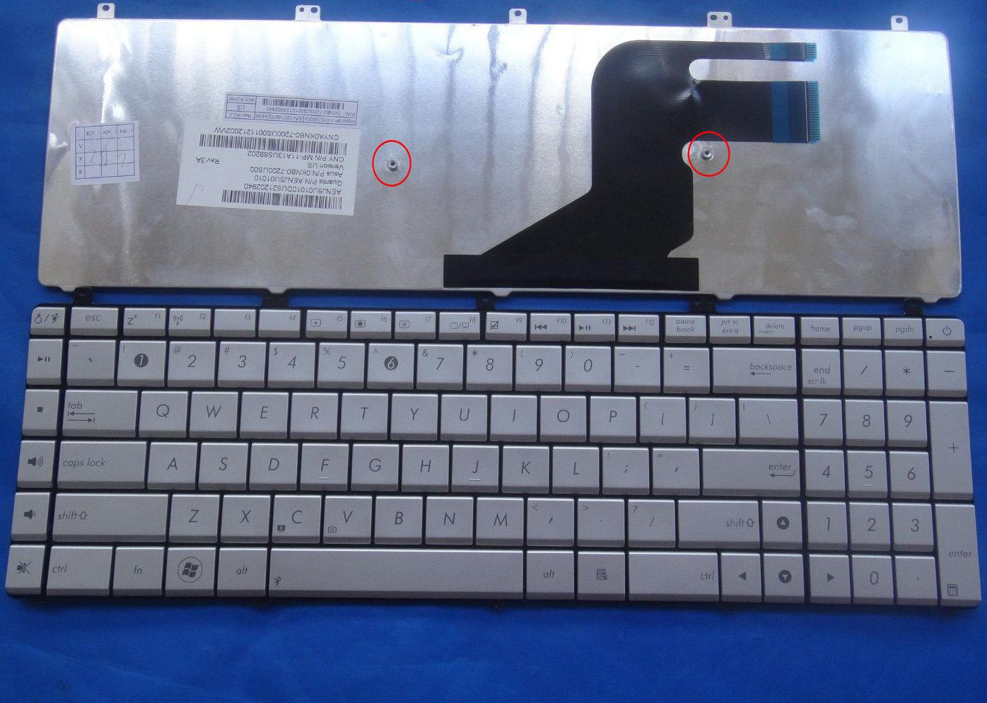 Asus Keyboard English 0KNB0-7200UI00