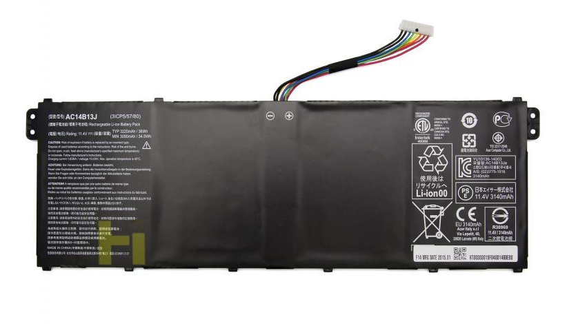 Replacement Acer Aspire Es1 131 Ac14b13j 36wh Battery