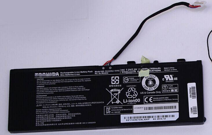 PC Parts Unlimited P000627340 New Pa5209u-1brs Toshiba L15-b1330 28Wh Genuine Battery