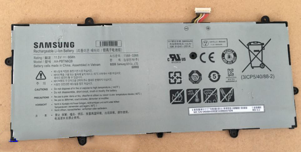 Replacement Samsung Np900x5n 900x5n Aa Pbtn6qb 66wh Battery