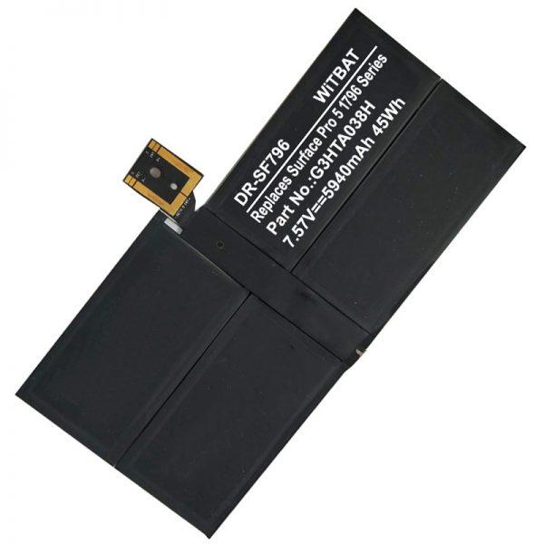Microsoft Surface Pro 5 1796 G3HTA038H laptop battery